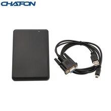 CHAFON 125KHz rfid 데스크탑 리더 10 자리 12 월 출력 형식 액세스 제어 관리를위한 RS232 인터페이스