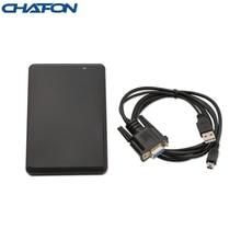 CHAFON 125KHz rfid desktop reader 10 digit dec output format RS232 interface for access control management