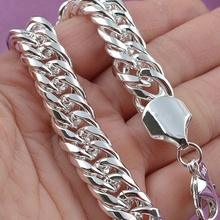 LEKANI Promotion 100% Authentic 925 Sterling Silver Women Chain Bracelet Wholesa