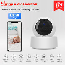 Sonoff 1080P HD IP 보안 카메라 WiFi 무선 APP 제어 GK 200MP2 B 모션 탐정 360 °보기 활동 경고 카메라