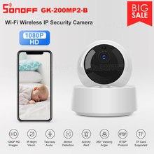 Sonoff – Cámara de seguridad 1080P inalámbrica con detección de movimiento, videocámara IP HD con WiFi, control por aplicación, alerta de actividad, visión en 360º, GK 200MP2 B
