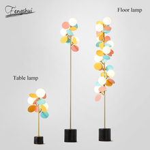 цена Postmodern LED Petal Floor Light Lighting Nordic Home Decor Floor Lamps for Living Room Bedroom Bedside Standing Lights Fixtures онлайн в 2017 году