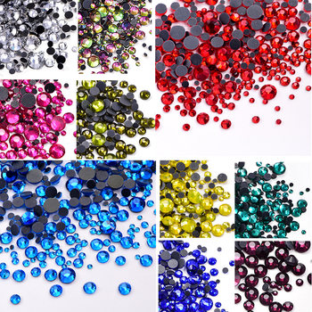 SS6-SS30 Many Colors DMC Hotfix Rhinestones Iron-on Rhinestone Glass Strass стразы Hot Fix Rhinestones Wedding Dress B2008 1