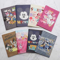 Fashion Animal Mickey Passport Cover Portable PU Leather Id Address Holder Boarding Men Women Travel Accessories Wallet Bag