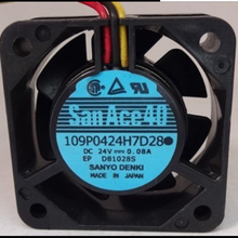 New original SanAce40 0.08A 109P0424H7D28 4015 inverter fan