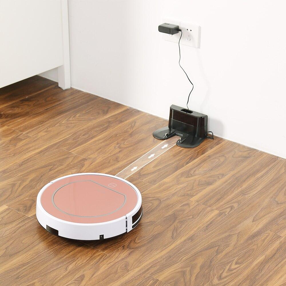 ILIFE V7s Plus Robot aspirateur balayage et nettoyage humide désinfection pour sols durs et tapis course 120 minutes Charge automatiquement - 5