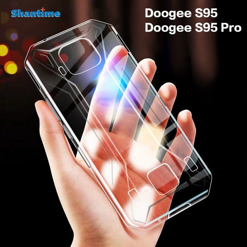For Doogee S95 Case Ultra Thin Clear Soft TPU Case Cover For Doogee S95 Pro Couqe Funda