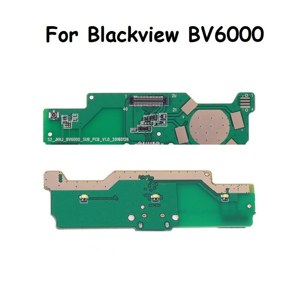 New <font><b>Blackview</b></font> <font><b>BV6000</b></font> Usb Board Charger Port Dock Charging Micro USB Slot Original <font><b>Parts</b></font> For <font><b>Blackview</b></font> BV6000s Smart Mobile image