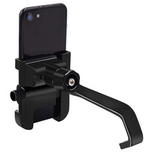 Newest Aluminum Alloy Mobile Phone Holder Fast Charge Multi-Function for Motorcycle Handlebar