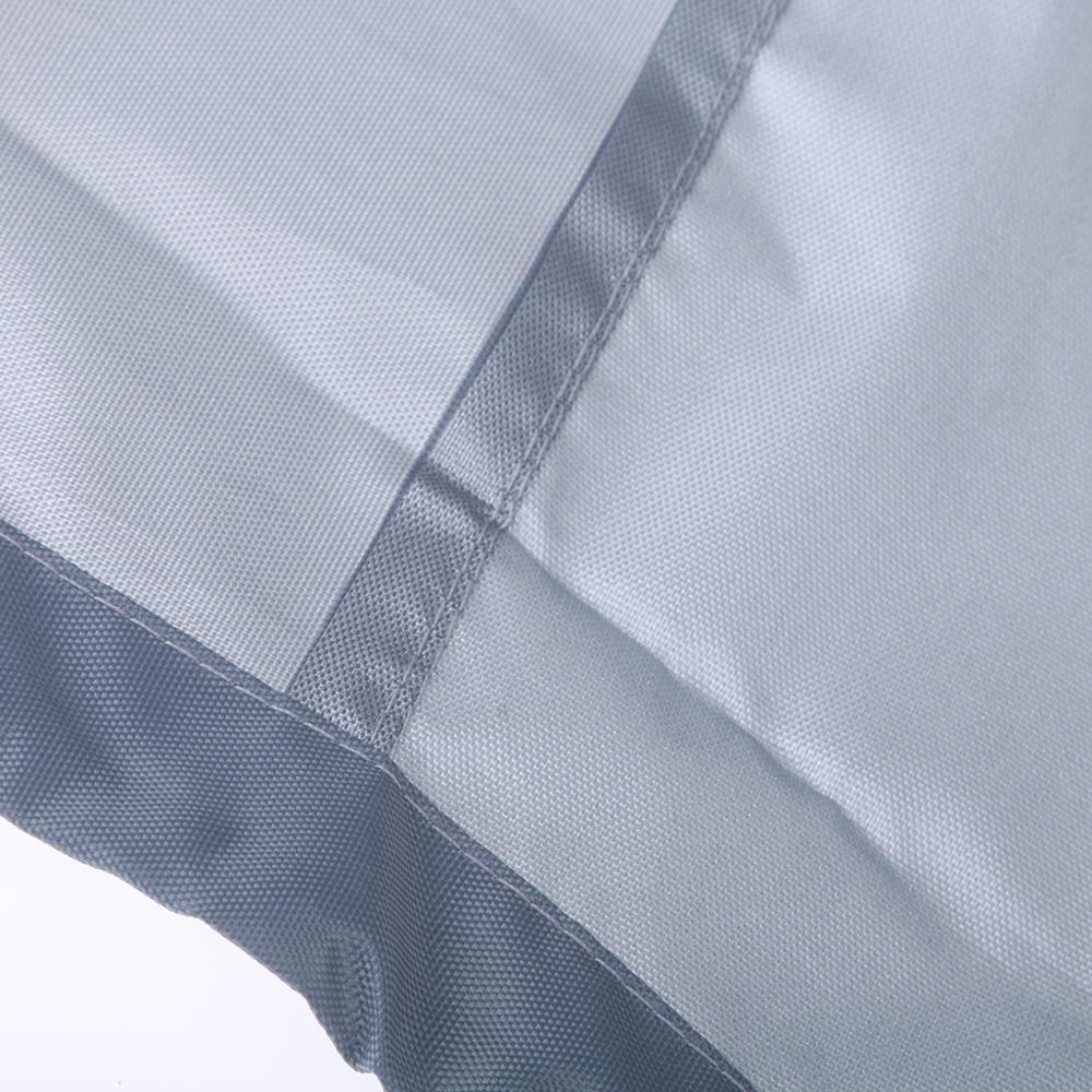 200-300HP étanche plein moteur hors-bord bateau moteur couverture anti-rayures Oxford tissu bateau moteur couverture gris - 6