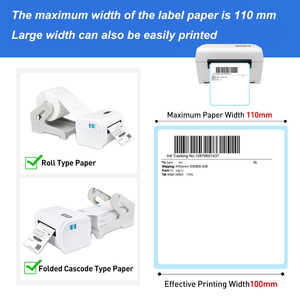 Image 3 - GZ Weiou Thermal Barcode Label Printer With Label Holder– Compatible for Amazon Ebay Etsy Shopify 4×6 Shipping Label