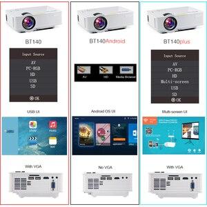 Image 4 - BYINTEK SKY BT140 Mini LED przenośny projektor hd do kina domowego