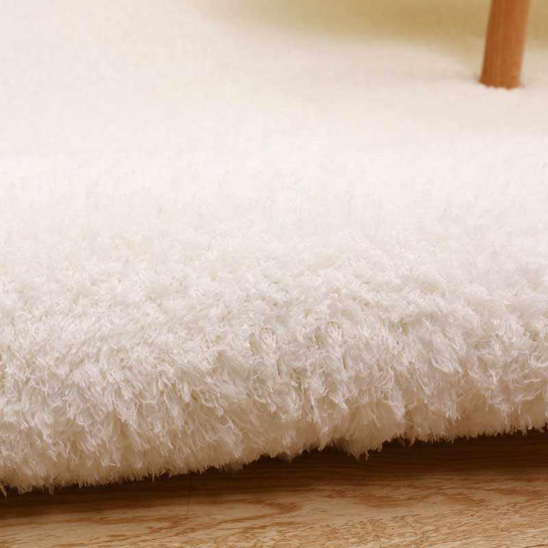 صوف الضأن أفخم سجادة غرفة النوم المضادة للانزلاق المنزل الجدول الطابق حصيرة الأطفال غرفة اللعب سجاد النائم فراش