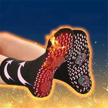 Self-heating Magnetic Therapy Comfortable Winter Warm Massage Socks SA