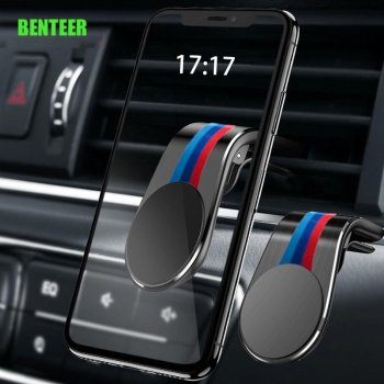 Performance M Power Car Phone Holder Sticker For BMW E34 E36 E60 E90 E46 E39 E70 F10 F20 F30 X5 X6 X1 M3 M5 M6 F01 F02 E71 F87 image