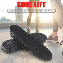 3/5/7/9cm Height Increase Insole Cushion Height Lift Adjustable Cut Shoe Heel Insert Taller Women Men Unisex Quality Foot Pads(China)