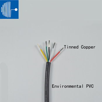 2/5M Sheathed Wire Cable 28 26 24 22 20 18 16 AWG Copper Signal Cable 2 3 4 5 6 7 8 10 Core Soft Electronic Audio Wire UL2464 image