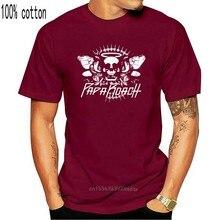 PAPA ROACH-teschio serpenti-maglietta S-M-L-XL-2XL maglietta ufficiale nuova di zecca