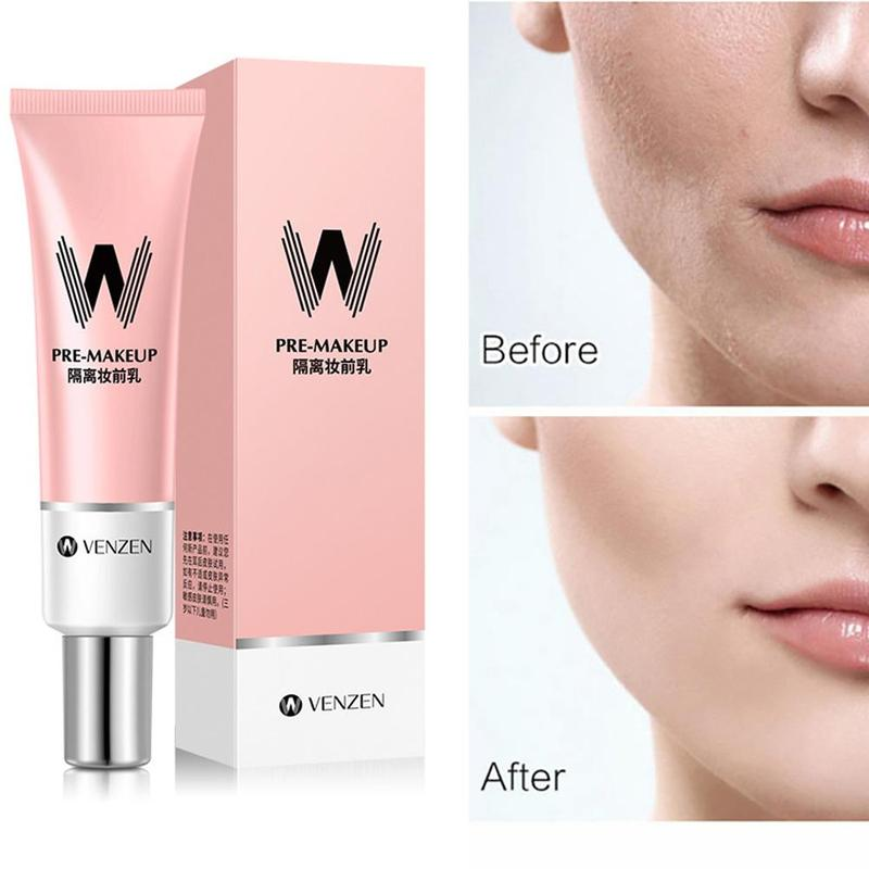 New Facial Primer Base Makeup For Face Brighten Skin Pore Concealer Primer Cream Before Foundation Primer Makeup Face Corrector
