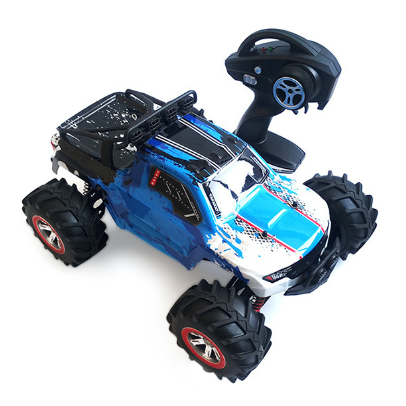 Large RC Car 4WD 1:<font><b>12</b></font> RC Drift Racing Car Buggy Water Land Amphibious Speed Truck With light 30km/h 2.4G Remote Control Car Toys image
