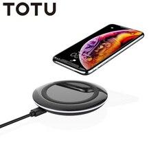TOTU magsafe bezprzewodowa ładowarka do iPhone XS MAX 11 Pro Max Samsung S9 Plus s9 telefon do ładowania przenośny telefon bezprzewodowa ładowarka Pad
