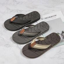 WOTTE Summer Slippers Men Drainage Non-Slip Flip Flops Men Beach Slides  Shoes Outdoor Comfort chanclas hombre Big Size 40-50