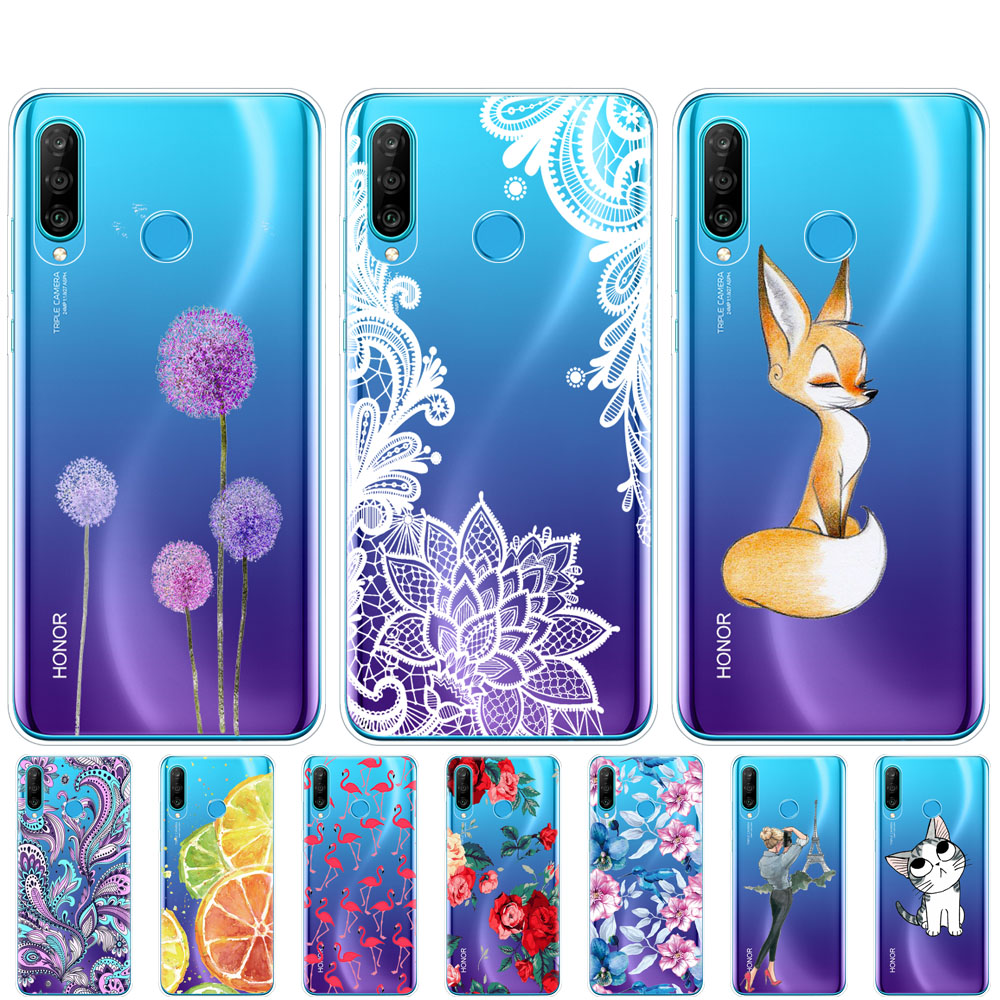 For Honor 20s Phone Case On Huawei Honor 20 S Back Cover Bumper Etui Coque Silicone Tpu Soft Full Protection Shockproof Fashion
