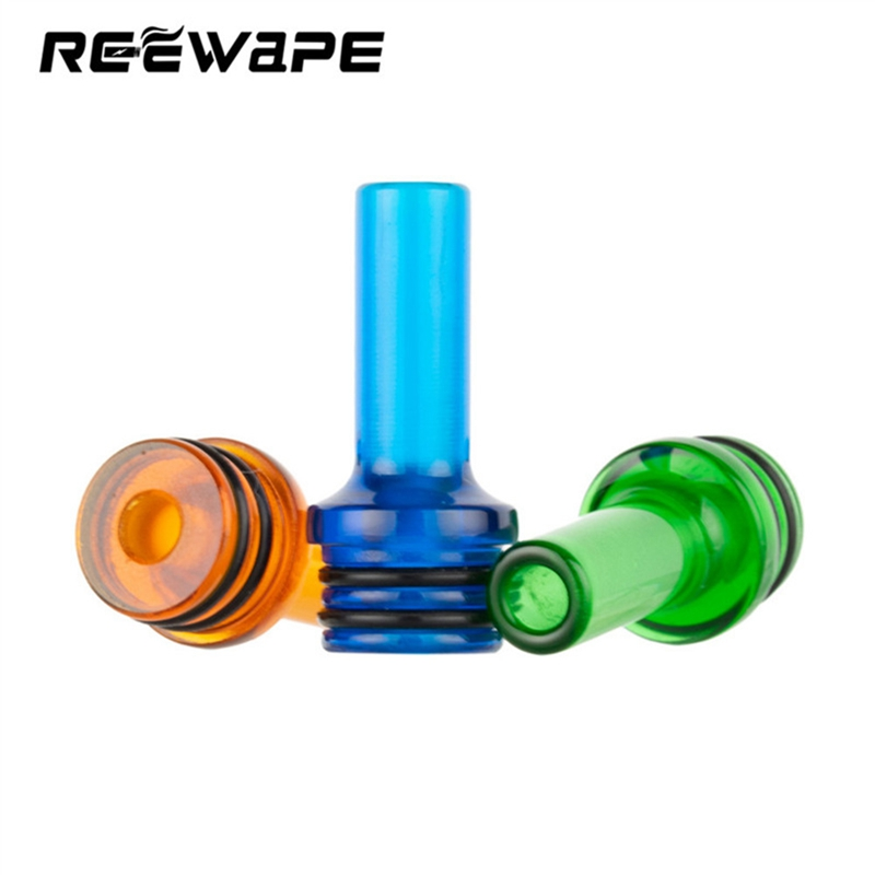 Epoxy Ultem Resin 22mm Long 5.5mm Narrow Bore 510 MTL Drip Tip For EXvape Expromizer V4/Wismec AMOR NS MTL Tank/Vaptio TYRO