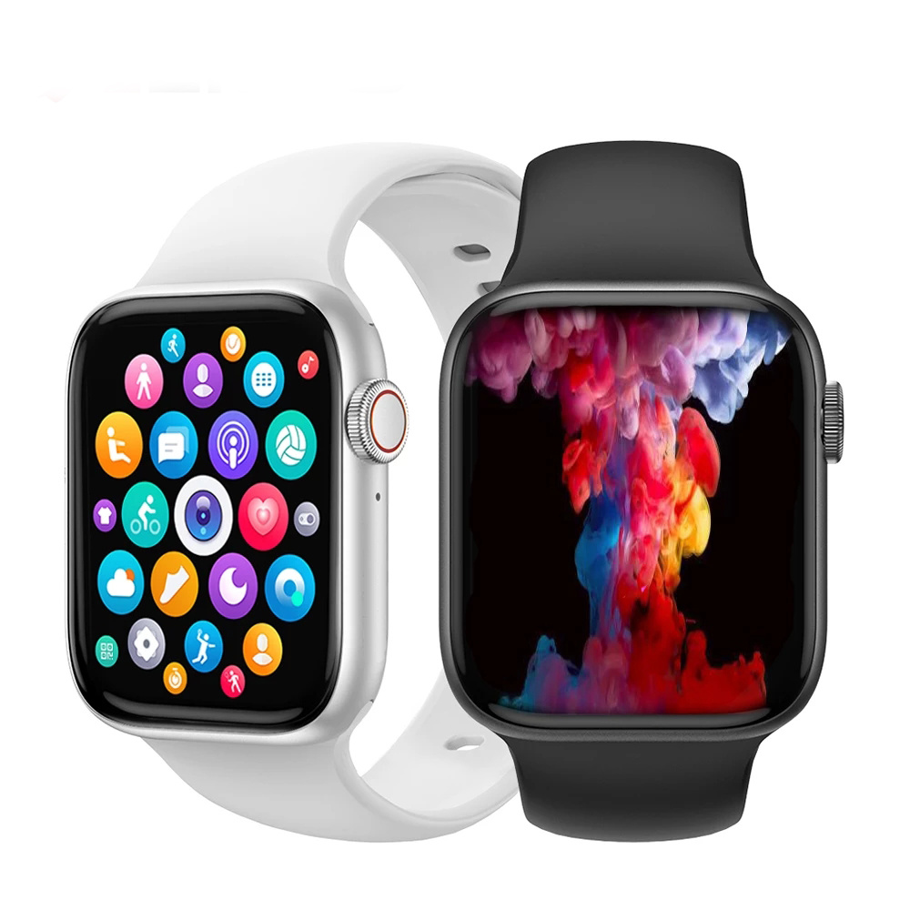 Bluetooth Call Smart Watch Men 1.75 Inch HD Full Screen Dynamic Dial IWO 13 Pro DT100 Smartwatch For Apple Watch Supports Phone 1