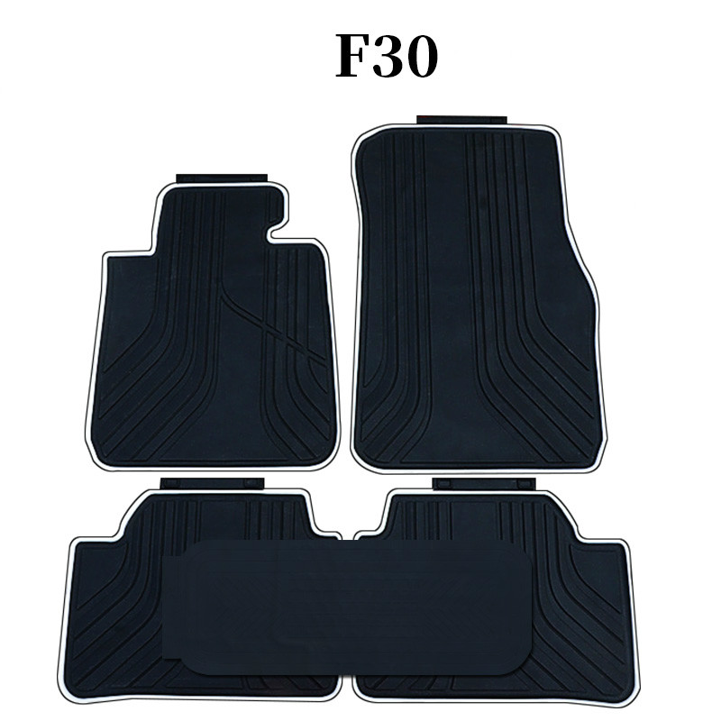 Rubber Car Floor Mats For 2004 2013 Year Bmw 3 Series 35 F30 320i
