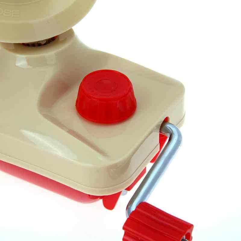 البلاستيك والحديد اليد تعمل صغيرة الصوف ويندر حامل ل الغزل الألياف لف آلة الغزل الألياف لف جهاز الخياطة الملحقات