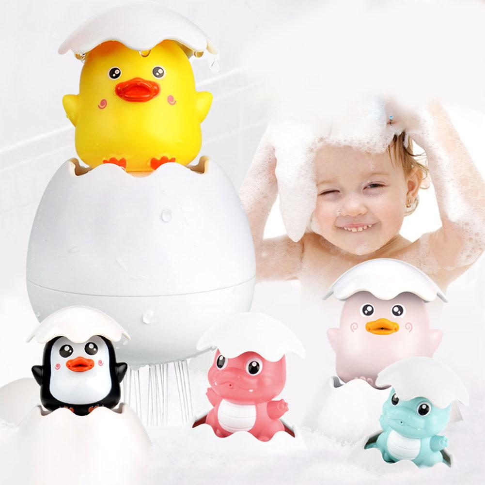 Creative Baby Water Spray Small Yellow Duck Shower Toy Children's Bathroom Play Bath Shower
