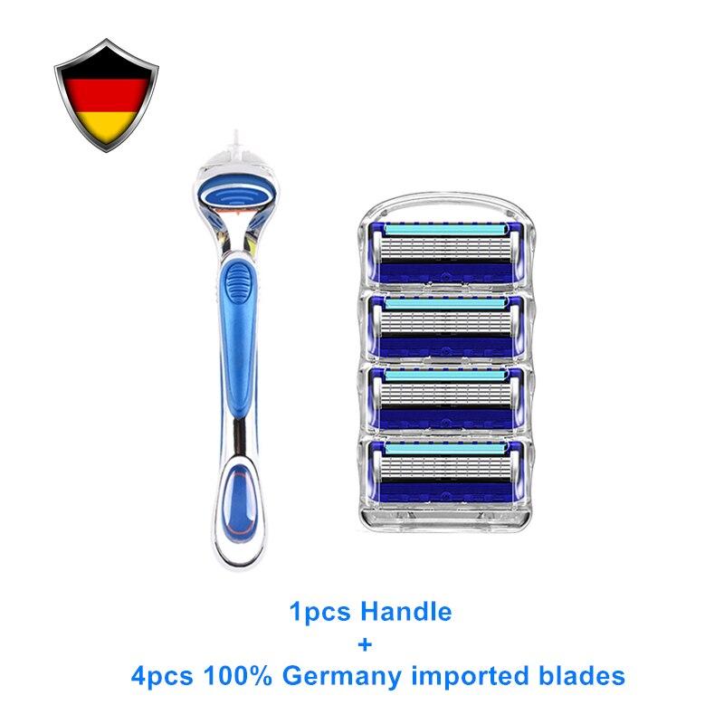 Novo gillette fusion power lâmina de barbear
