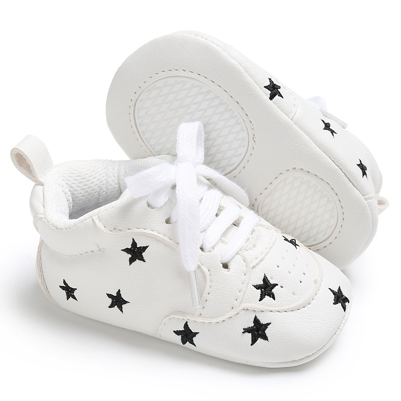 Casual Baby Shoes Infant Baby Girl Crib Shoes Cute Soft Sole Prewalker Sneakers Walking Shoes Toddler First Walker 6