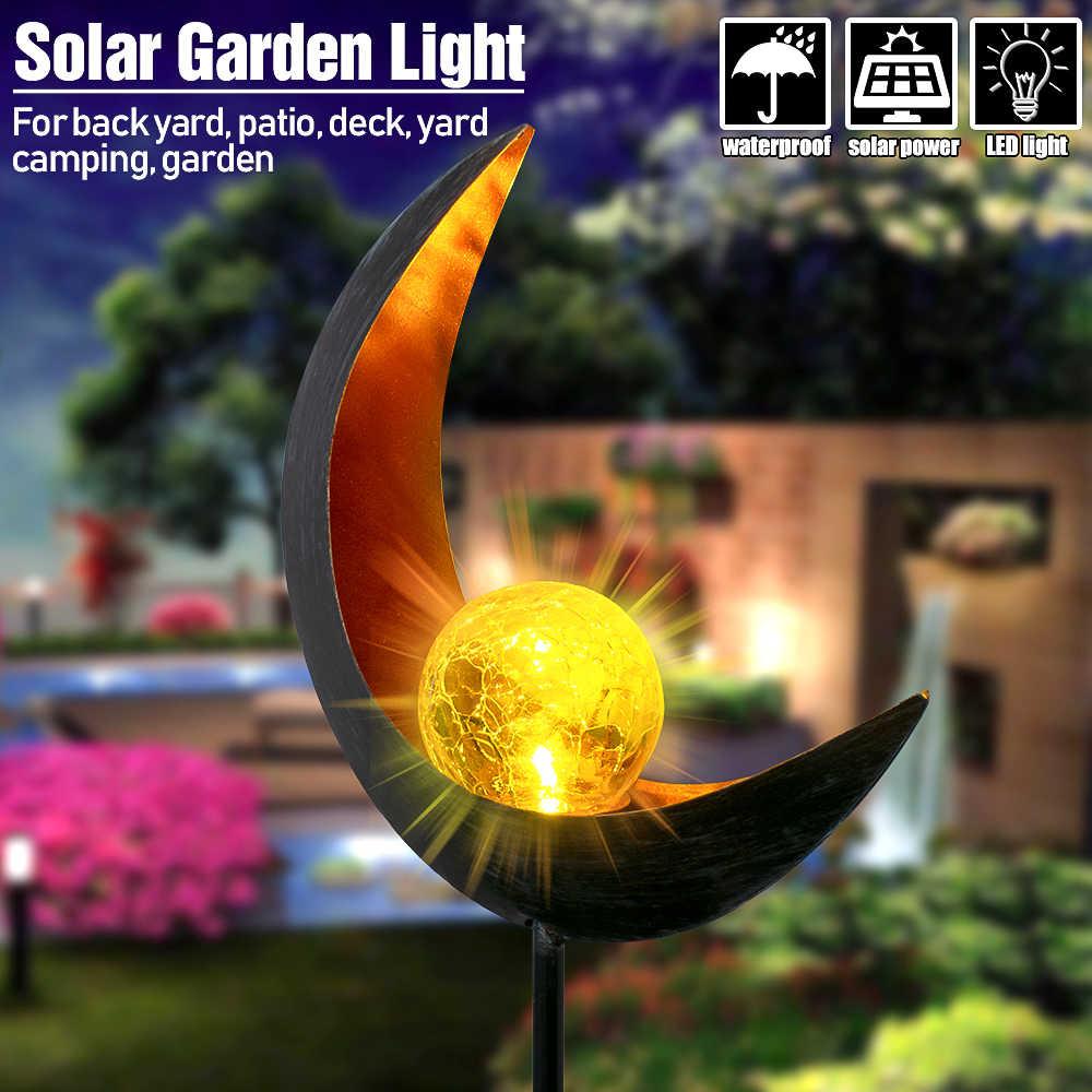 Słoneczna lampka pochodnia led żelazna ogrodowa dekoracja trawnika wtyczka światła reflektor led do użytku zewnętrznego do ogrodu ścieżki 20