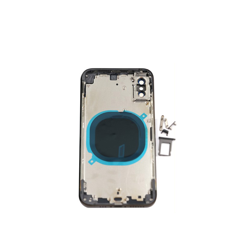 Battery-Cover Middle-Frame iPhone Xs Housing-Assembly-Case Back-Housing Side-Buttons