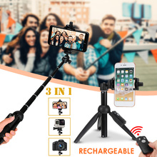 3 in 1 Handheld Stabilizer Cellphone Video Record Smartphone Gimbal Selfie Stick Bluetooth Remote For Action Camera phone