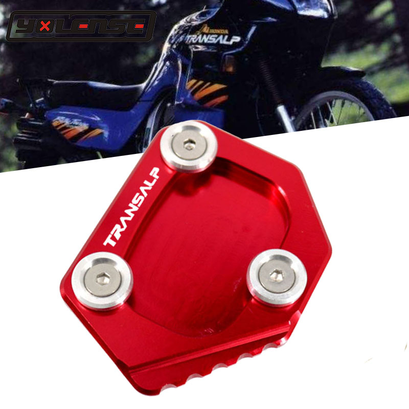 For SUZUKI GSXR1000 09-16 Side Stand Enlarger Plate Extension Pad CNC Kickstand