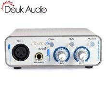 Douk Audio HiFi Preamplificatore Microfonico Pieno Balance XLR MIC Preamplificatore Registrazione Del Suono Live Webcast