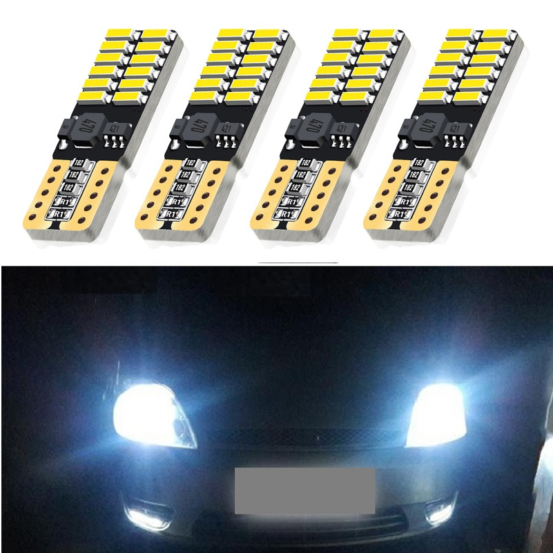 4pcs T10 LED W5W 194 Car Lights For Volkswagen VW Passat B5 B6 Bora POLO GOLF 6 4 5 Jetta MK4 Auto Led Interior Light Trunk Lamp image