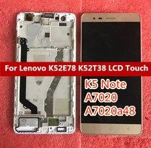 ЖК-дисплей и дигитайзер сенсорного экрана в сборе для Lenovo K5 Note A7020 A7020a48 K52t38 k52e78