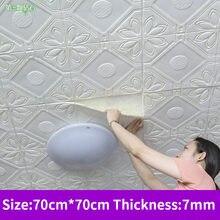Пенопластовые водонепроницаемые Настенные обои для спальни