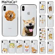 MaiYaCa Cute animal Shiba Inu Dog Soft Silicone TPU Phone Cover for iPhone 11 pro XS MAX 8 7 6 6S Plus X 5 5S SE XR cover(China)