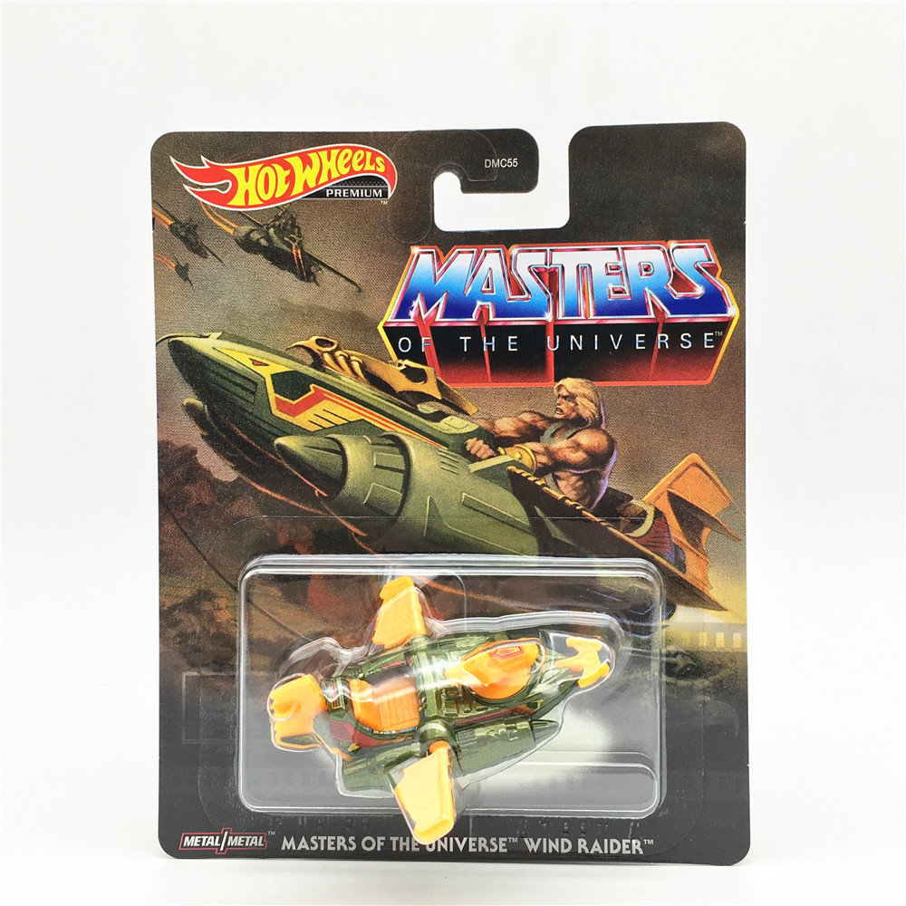 2020 MASTERS OF THE UNIVERSE WIND RAIDER HOT Wheel Classic Animation Film Version Collection Car Alloy