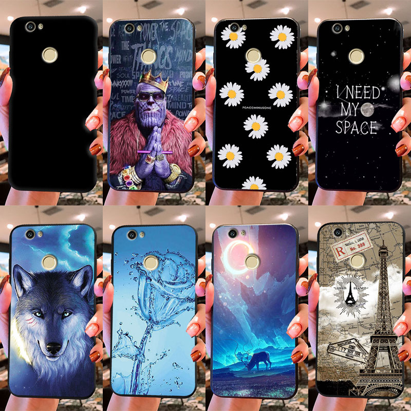 """Cover For Huawei Nova Case CAN-L12 CAN-L11 CAN-L01 CAN-L02 CAN-L03 CAN-L13 CAZ-AL10 Case Cover 5.0"""" Soft TPU Silicon Phone Case"""