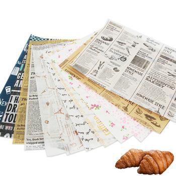 100 sztuk nowa aktualizacja długość gazety styl tosty olejoodporny papier woskowany żywności Fast Food chleb olej-papier żywności Wrapper papier przybory do pieczenia tanie i dobre opinie CN (pochodzenie) Folia aluminiowa papier olejowy Ekologiczne 12 Oilpaper Wax Paper CE UE Food Grade Wax Paper Baking Grease Paper
