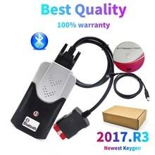 2021 nuovo VCI Vd Ds150e Cdp Bluetooth 2017.R3 Keygen su disco per Vdijk Autocoms Pro del(car Truck Diagnostic Obd Scanner Tool