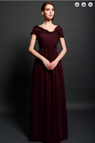 Formal Women Cap Sleeve Vestido De Festa Robe De Soiree 2018 New Design Long Evening Elegant Gown Mother Of The Bride Dresses