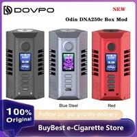 جديد وأصلي Dovpo Odin DNA250C صندوق Mod الطاقة بواسطة المزدوج 21700 بطارية تناسب البخاخة 510 موضوع vape خزان E cig DNA Mod VS غنيمة 2