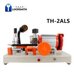 Nueva máquina de corte de llaves de TH-2ALS XCAN con Pin de guía máquina de llaves Horizontal para copiar llaves de puerta de coche